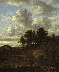 Jacob van Ruisdael - Landscape with River and Pines CAM CCF 0075.jpg