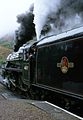 Jacobite Steam Train - Between Kinlocheil and Mallaig, Scotland, UK - May 18, 1989 01.jpg