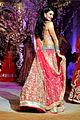 Jacqueline Fernandez walks the ramp for Jyotsna Tiwari at AVCIBFW 2013 (1).jpg
