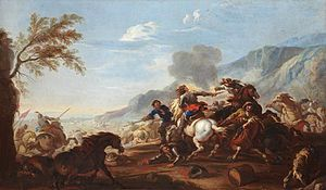 Jacques Courtois - Battle scene