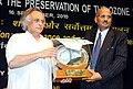 Jairam Ramesh presented the National Award for Prevention of Pollution, at the 'International Ozone Day' celebrations, in New Delhi on September 16, 2010.jpg