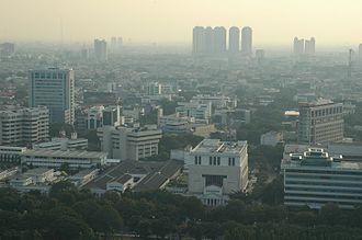 West Jakarta - West Jakarta skyline