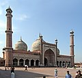 Jama Masjid is the largest mosque in India. Delhi, India..jpg