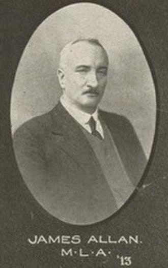 James Allan (Queensland politician) - Image: James Allan Queensland politician