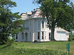 James F. Harcourt House - James F. Harcourt House, August 2010
