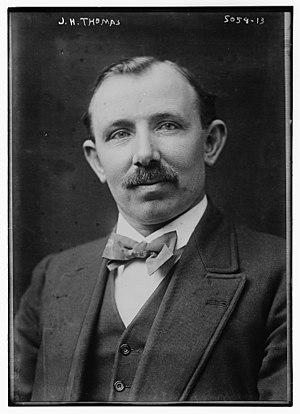 J. H. Thomas - Thomas circa 1920