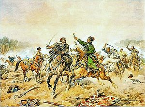 Russo-Polish War (1654–1667) - Image: Jan Chryzostom Pasek pod Lachowiczami