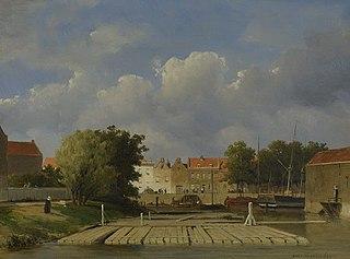 Houtvlotten in de Zalmhaven