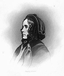 Engraving of Jane Pierce