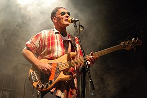 Lech Janerka - Janerka performing on 27 August 2005