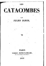 Janin - Les catacombes, tome 6.djvu