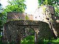 Janowice Wielkie Zamek Bolczów (trwała ruina).jpg