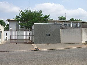Foreign relations of Ghana - Japanese Embassy in Accra