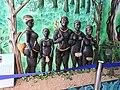 Jarawas statue-3-samudrika museum-andaman-India.jpg