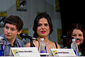 Jared Gilmore, Lana Parrilla & Emilie de Ravin (14775279087).jpg