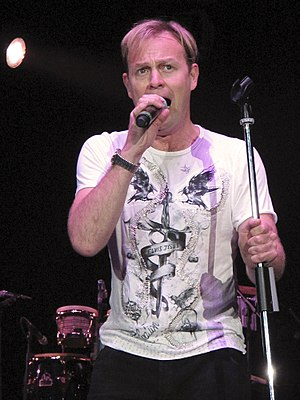 Jason Donovan - Donovan performing at the Here and Now Tour in 2011