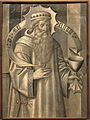 Jaume Hughet - Compartiment del revers de la predel·la de Santa Maria de Ripoll- Melquisedec.JPG