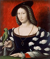 Jean Clouet: Portrait of Marguerite d'Angoulême (1492-1549)