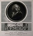 Jean Paul Marat. Mezzotint by C. F. Levachez & J. Duplessi-B Wellcome V0003834.jpg