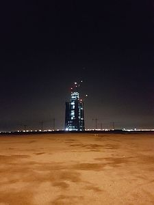 Jeddah Tower Building Progress as of 07-Jul-2016.jpg