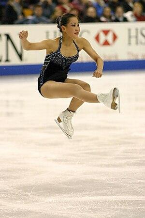 Sit spin - Image: Jennifer Don 2