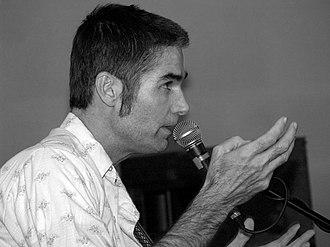 Jim White (musician) - Jim White at Nottingham's Bodega Social Club, October 12, 2007