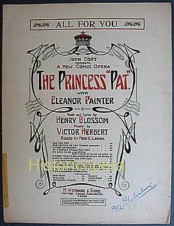 <i>The Princess Pat</i> opera