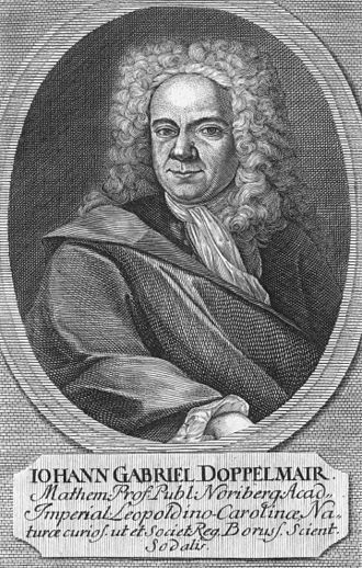 Johann Gabriel Doppelmayr - Johann Gabriel Doppelmayr.