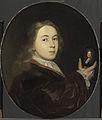 Johannes Bakhuysen (1683-1731). Met een miniatuurportret van zijn vader Ludolf Rijksmuseum SK-A-2189.jpeg