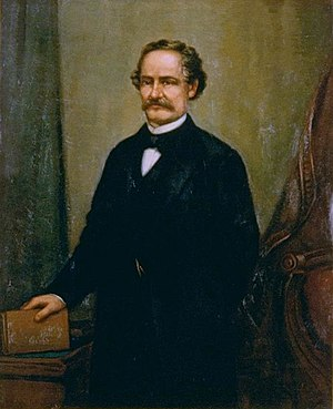 John B. Weller - Portrait of Weller by William F. Cogswell