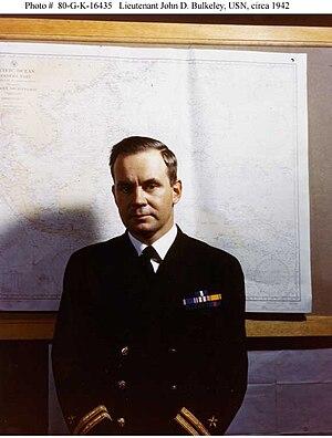 John D. Bulkeley - Bulkeley as a Lieutenant in the Navy