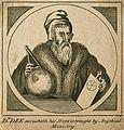 John Dee. Line engraving. Wellcome V0001506.jpg