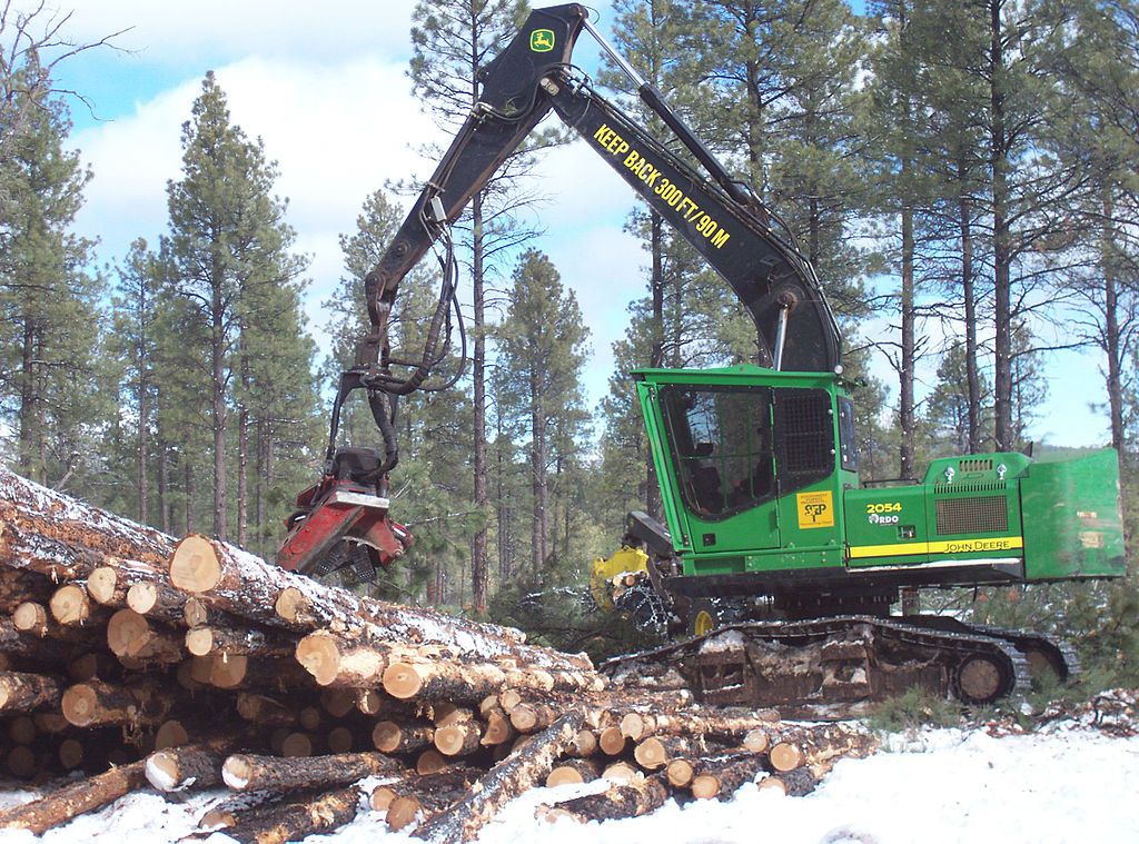 File John Deere 2054 Dhsp Forestry Swing Machine Kaibab