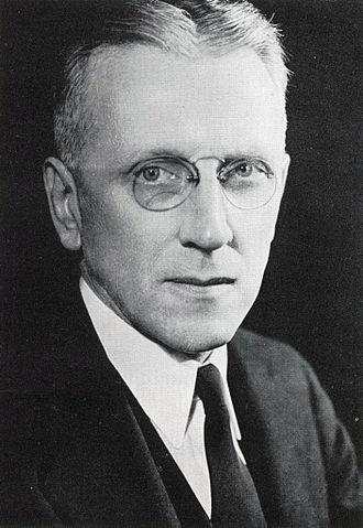 John Gabbert Bowman - John G. Bowman circa 1935
