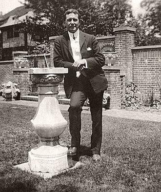 John McCrae - John McCrae in 1912