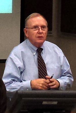 John A. White - John White teaches a review of engineering economics for students at the University of Arkansas
