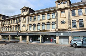 East Ayrshire - Johnnie Walker Bond in Kilmarnock is home to East Ayrshire's central Social Work department