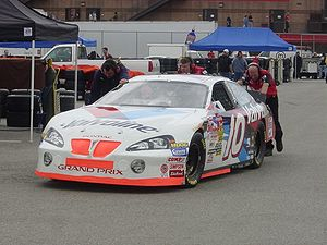 Johnny Benson Jr. - The No. 10 at the 2003 Auto Club 500