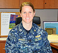 Joint Base lieutenant acknowledged as ambassador; example to women everywhere 131015-N-RX234-001.jpg