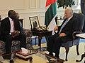 Jordanian Prime Minister Abdullah Ensour receiving CTBTO Executive Secretary, Lassina Zerbo. (15601914748).jpg