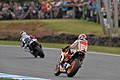 Jorge Lorenzo and Marc Márquez 2013 Phillip Island.jpeg