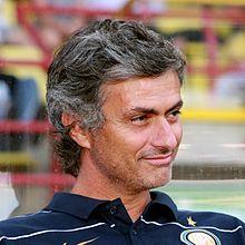 Mourinho sulla panchina dell'Inter