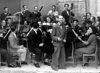 Josef Tal - Tal with Palestine Conservatoire of Music Orchestra (1939)
