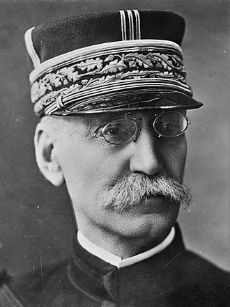 Paris in World War I - General Joseph Gallieni, the military governor of Paris in at the start of World War I in 1914