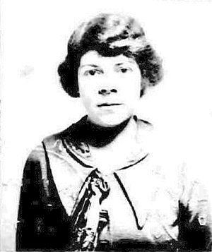 Josephine Dillon - U.S. passport photo from 1918