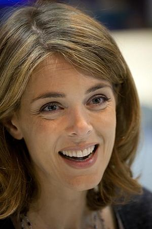 Julie Andrieu - Julie Andrieu at the Salon du Livre in 2012.