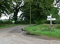 Junction of Burton Overy Lane and New Road - geograph.org.uk - 506258.jpg
