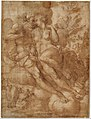 Jupiter and Io (recto); sketch of a male figure stabbing himself in the chest (verso) MET DT235531.jpg