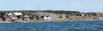 Jurmo - The northern shore of Jurmo.