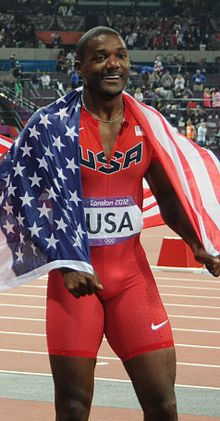 Justin Gatlin London 2012.jpg